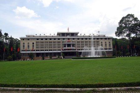 El Palacio de la Reunificación de Ho Chi Minh City
