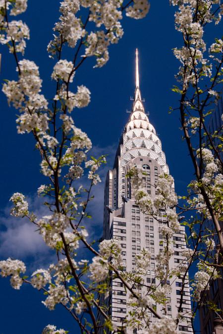 Rascacielos Nueva York primavera