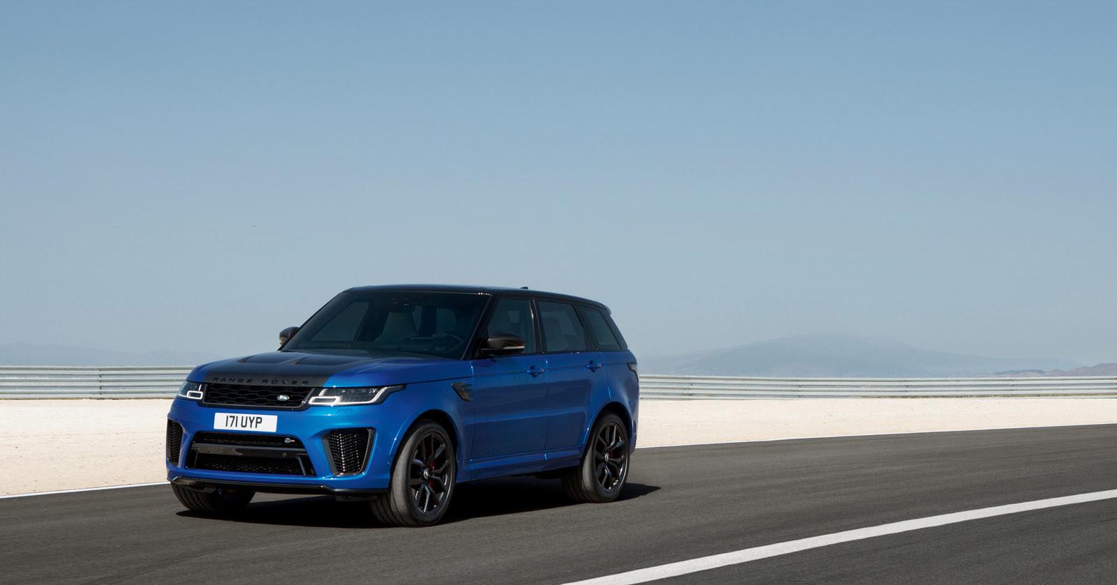 Foto de Range Rover Sport SVR 2018 (11/21)