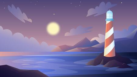 Sealighthouse Sunset