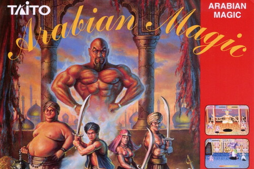 "Retroanálisis de Arabian Magic, ""Las mil y una noches"" en plan beat 'em up por obra de Taito"
