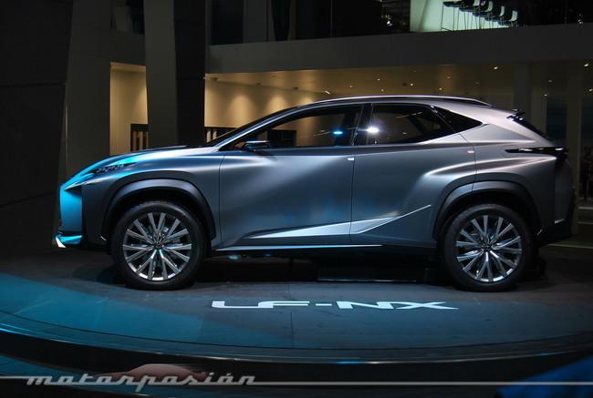 Salón de Frankfurt 2013 - Lexus LF-NX Concept
