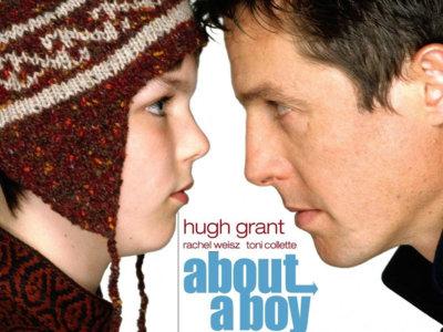 Cine en el salón: 'Un niño grande', Grant sin adornos