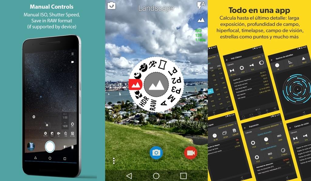 Aplicaciones Camara Android-OS Pro