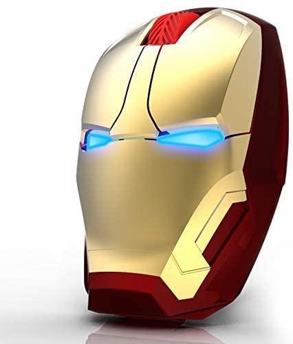 Mouse inalámbricos en forma de Iron Man