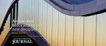 La arquitectura será la séptima disciplina de la Iniciativa Artística Rolex para Mentores y Discípulos