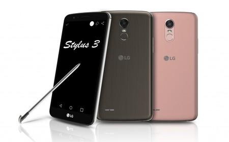 LG Stylus 3, el smartphone con lápiz óptico de LG se renueva con lector de huellas