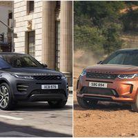 Los Range Rover Evoque y Land Rover Discovery Sport se renuevan con motores más eficientes y nuevos sistemas de infoentretenimiento