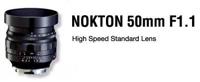 Voigtländer Nokton 50 mm f/1.1 para Leica y Micro Cuatro Tercios