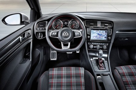 Volkswagen Golf GTI, vista interior