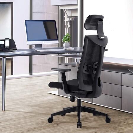 Esta silla de oficina Umi está de oferta en Amazon a 178 euros: ergonómica, transpirable, muy ajustable y soporta hasta 150 kilos