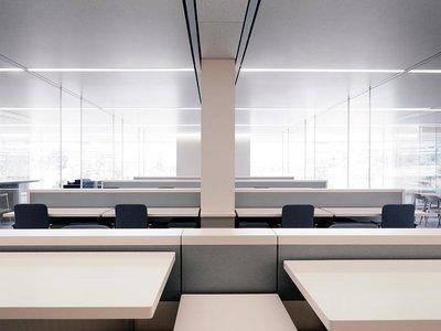 Algunos empleados prefieren la privacidad de un despacho a los espacios abiertos del Apple Park