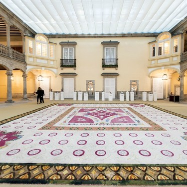 Vista Alegre deslumbra con sus mejores piezas en la exposición organizada en el Palacio de El Pardo