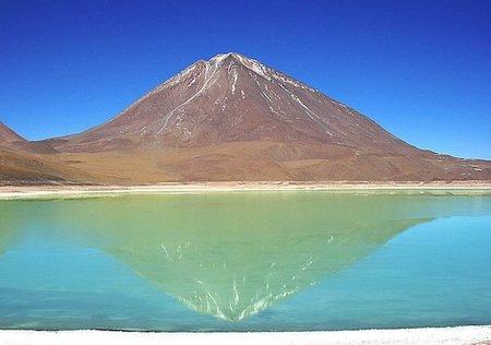 La Laguna verde de Potosí (Bolivia)
