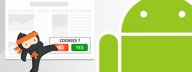 How to remove the cookie notice in an Android browser with the Ninja Cookie extension