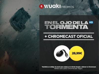 Google Chromecast + En el ojo de la tormenta por 28,99 euros y envío gratis