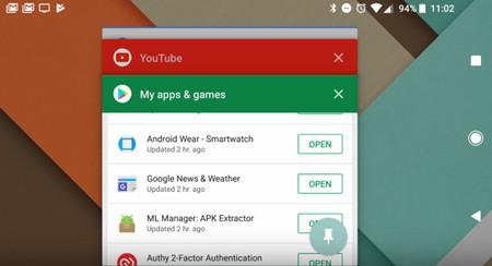 En Android Oreo la ventana de Recientes se ve mejor que nunca y usa menos memoria