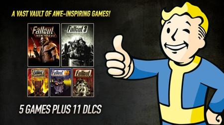 Llévate todos los juegos de Fallout y sus DLCs por $20 dólares