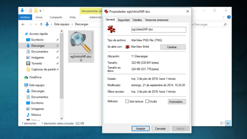 Cómo te pueden engañar camuflando la extensión de un archivo y cómo evitarlo
