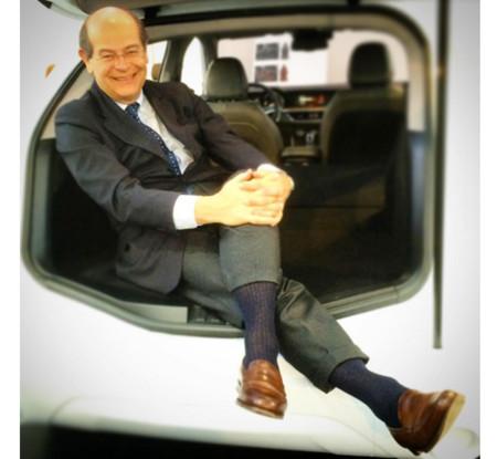 ¿Adivinas en el maletero de qué Alfa Romeo está sentado Lorenzo Ramaciotti?