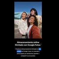 Los Google Pixel 4 no tienen almacenamiento ilimitado a calidad original en Google Fotos