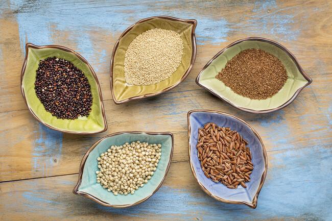 Los mejores cereales y granos sin gluten para celíacos (y no celíacos)