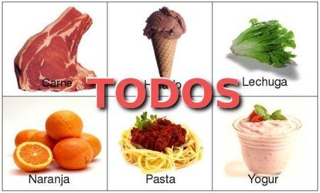 Solución a la adivinanza: todos los alimentos son apropiados para una dieta de adelgazamiento