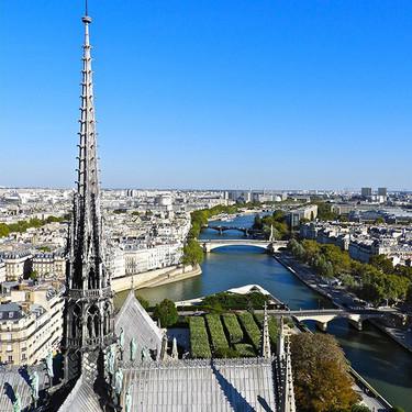 Nueve sorprendentes propuestas para reconstruir la aguja y el tejado destruido de Notre Dame