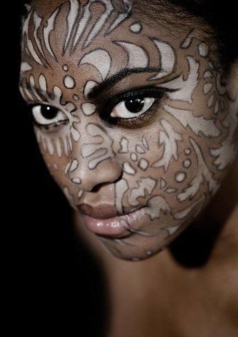 Los rostros pintados de Ellis Faas: ¿algún día nos maquillaremos así?