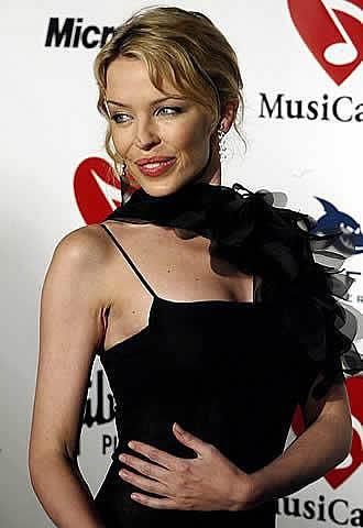 Kylie Minogue imagen de H&M