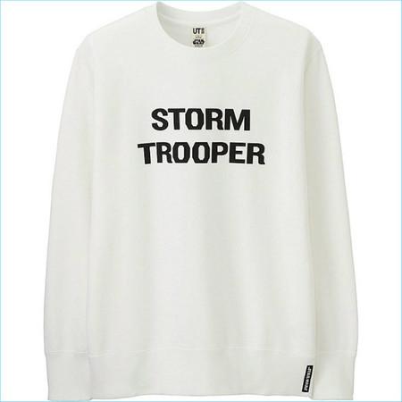 Uniqlo Star Wars Storm Trooper Sweatshirt