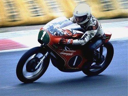 Walter Villa con la HD 250 de GP