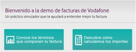 Vodafone lanza una demo interactiva para entender mejor sus facturas