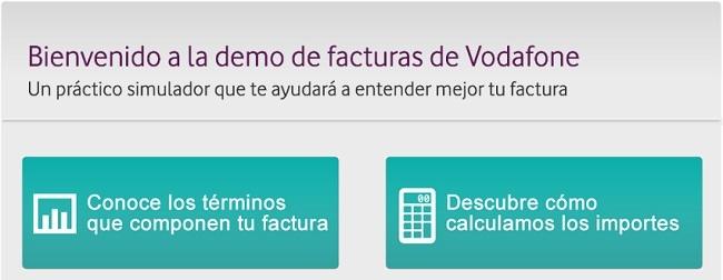 Vodafone lanza una demo interactiva para que sus clientes entiendan las facturas