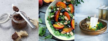 Recetas refrescantes, sencillas y deliciosas contra el calor en el paseo por la gastronomía de la red