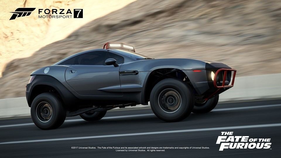Foto de The Fate of the furious en Forza Motorsports 7 (1/8)