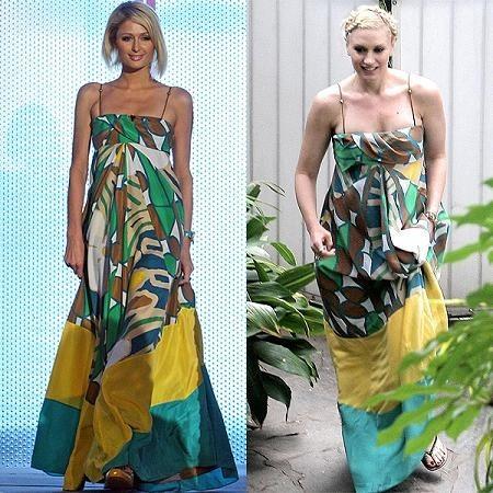 Vestido de Diane von Furstenberg: ¿Paris Hilton o Gwen Stefani?