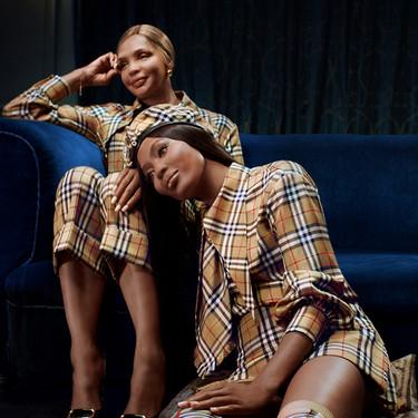 Naomi Campbell y su madre se marcan el twinning del año en la campaña de Navidad de Burberry