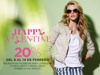 Blanco: be my Valentine con un 20% de descuento si les sigues en Facebook