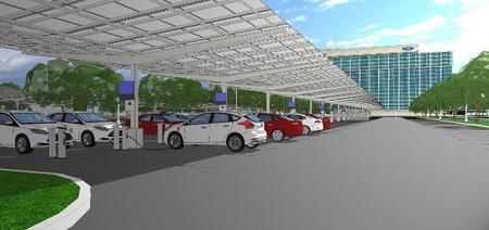 Ford alimentará sus oficinas con luz solar