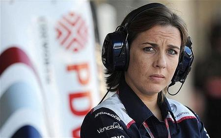 Claire Williams se postula como sustituta de Frank Williams