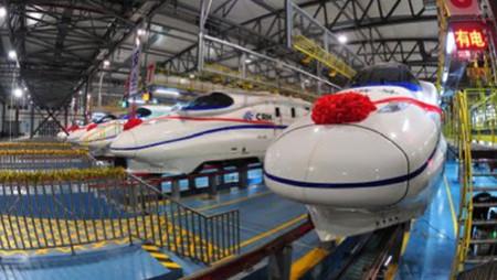Desde finales de año China cuenta con la línea de tren más rápida del mundo