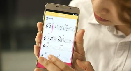 La nueva aplicación de Samsung convierte tu voz en música