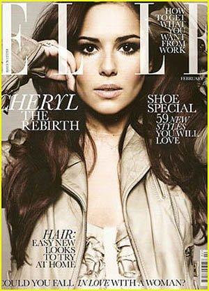 Cheryl Cole y Gisele Bundchen, dos portadas diferentes para febrero en Elle UK y Vogue China