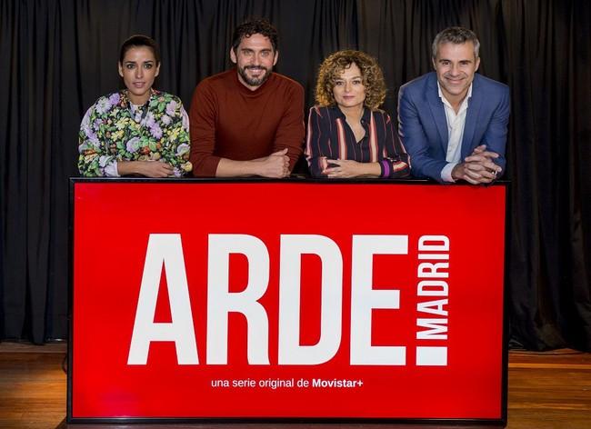 Arde Madrid Presentacion
