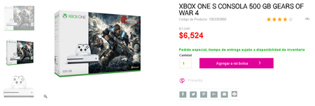 Xbox One S Mexico Liverpool