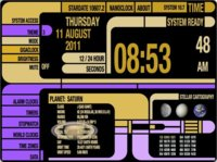 TimePlus, un reloj basado en Star Trek, ahora gratis