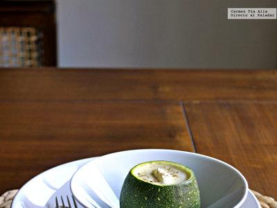 Crema de calabacín, puerro y queso: receta clásica reinventada