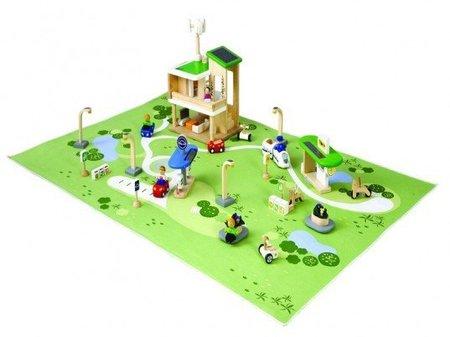 Construye una ciudad ecológica