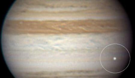 Impacto en Júpiter en junio de 2010